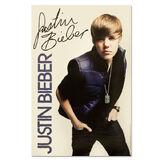 Justin Bieber Vest Poster