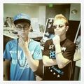 Justin Bieber and Ryan Butler as Harry Potter and Ozzy