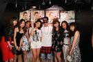 Justin meeting fans in Tokyo April 2014