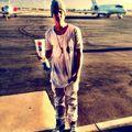 Justin at airport