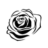 Purpose Singles sticker rose tattoo