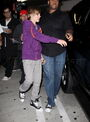 Bieber at ArcLight 2010