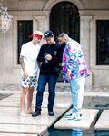 Ivan Berrios showing stills to Justin Bieber & DJ Khaled