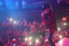 Justin Bieber performing at LIV 2015