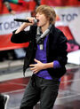 Justin Bieber Performs on 'The Today Show' October 2009