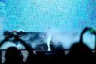 Justin Bieber in smoke Believe Tour Bangkok