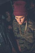 Justin Bieber at Soundz' album release party
