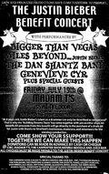 The Justin Bieber Benefit Concert poster
