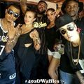 Justin Bieber with his friends 2014