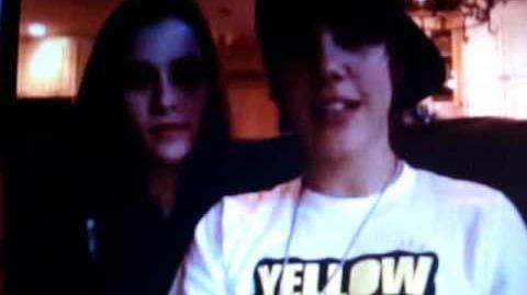 Justin Bieber & Caitlin Beadles - ustream ( ORIGINAL