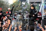 Justin Bieber drumming VMA's 2010