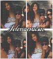 Justin Bieber with Selena Gomez 2013