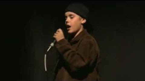 Justin singing Someday at Christmas by Stevie Wonder - Final