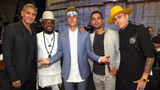 Justin Bieber at 'Hand in Hand' Telethon