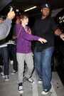 Justin Bieber and Kenny Hamilton 2010