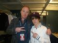 Ronnie Mercer backstage at the Juno Awards 2010