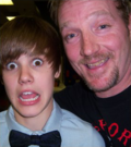 Justin Bieber and Ronnie Mercer