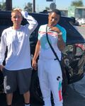 Justin Bieber at Imperial Courts Recreation Center