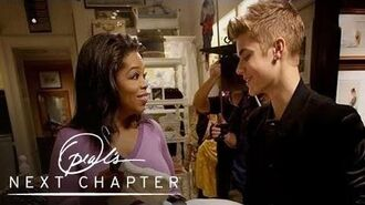 First Look Oprah's Gift Ideas For Justin Bieber Oprah's Next Chapter Oprah Winfrey Network