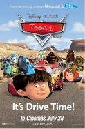 Toons cars poster