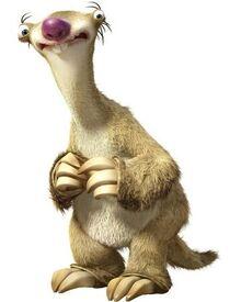 Sid (Ice Age) as Donkey