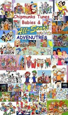 Chipmunks Tunes Babies & All-Stars' Adventures Series