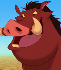 Pumbaa in The Lion King-0