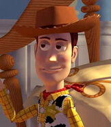 Woody in Toy Story