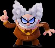 Professor Poopypants as Gaul