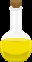 Yellow Potion PNG Clipar