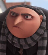 Gru in Despicable Me Shorts