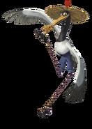 Crane kung fu panda 3