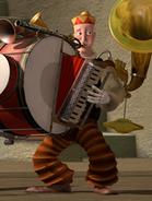 One man band bass