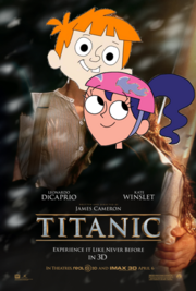 Todd and Marurecia Titanic Poster