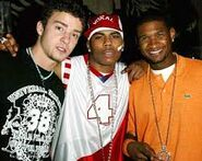 Usher justin nelly