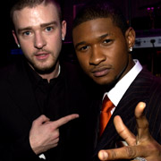 Usher and justin