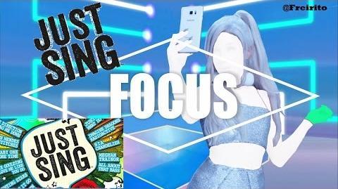 FOCUS - Ariana Grande JUST SING 5 STARS