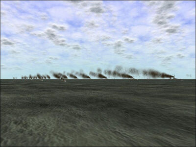 Distant smoke
