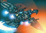 Iron bird war droid