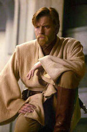 Ewan McGregor as Obi-Wan Kenobi in Star Wars - Revenge of the Sith