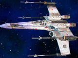 XJ9 X-Wing starfighter