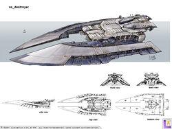 Sabaoth Destroyer concept 2