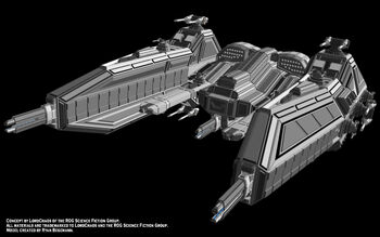 Babylon Gunship