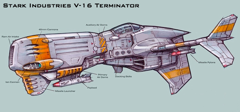 Stark Industries V-16 Terminator