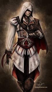 Ezio Assassins Creed 2 by Ninjati