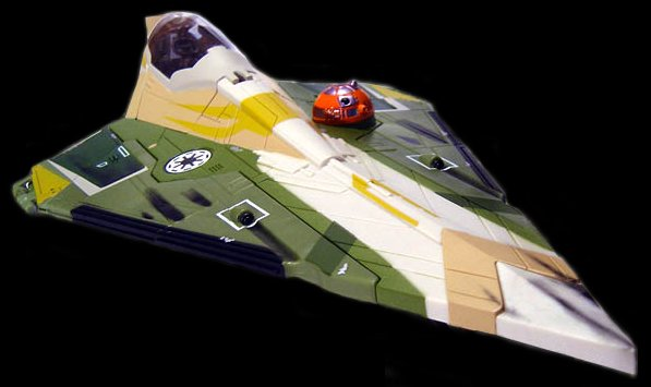 Kit Fisto starfighter
