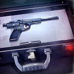 Model 22T4 hold-out blaster