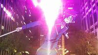 Tatsuya evades Chitoses attack