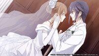 Munakata and saya wedding