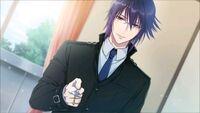 Gakuen K Illustration, Munakata Good Ending 01